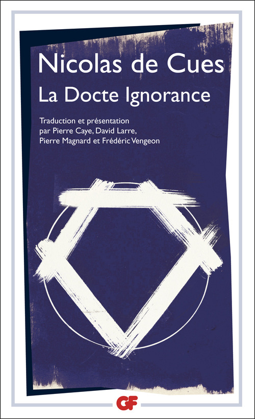 Nicolas De Cues La Docte Ignorance