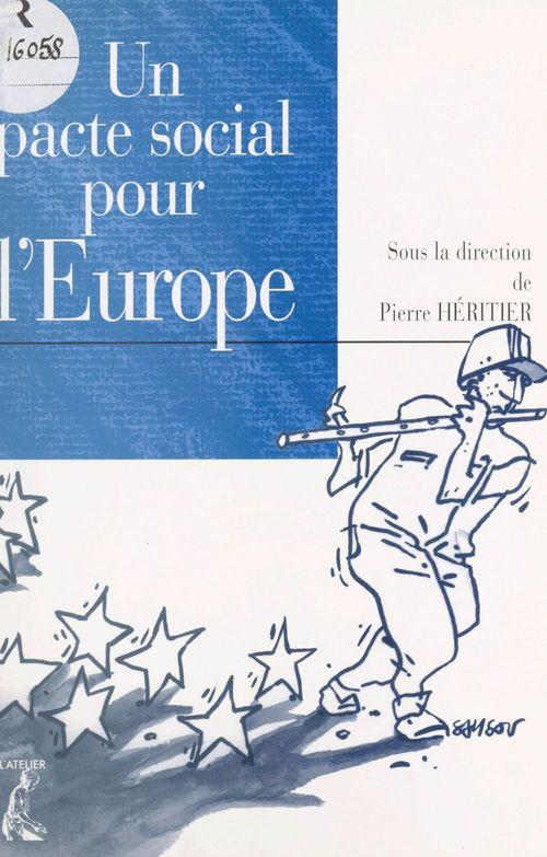 Un pacte social pour l'Europe