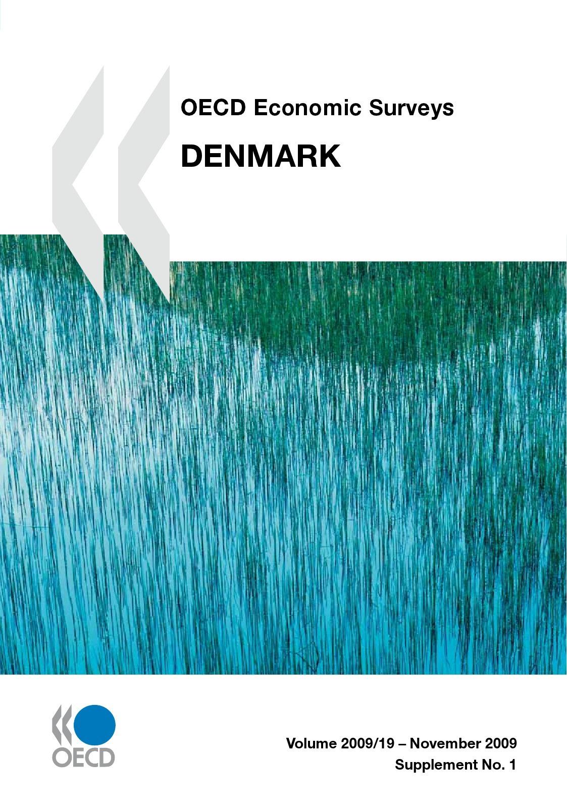 Collectif OECD economic surveys ; Denmark (édition 2009)