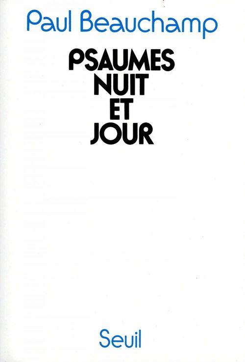 Paul Beauchamp Psaumes nuit et jour