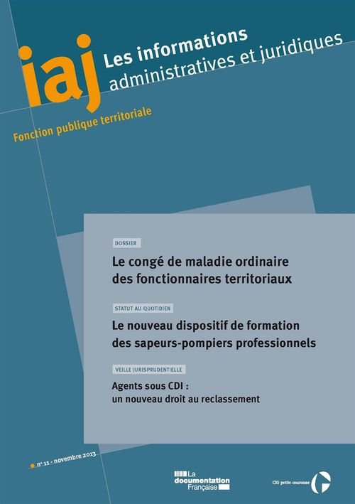 IAJ : Informations administratives et juridiques - Novembre 2013