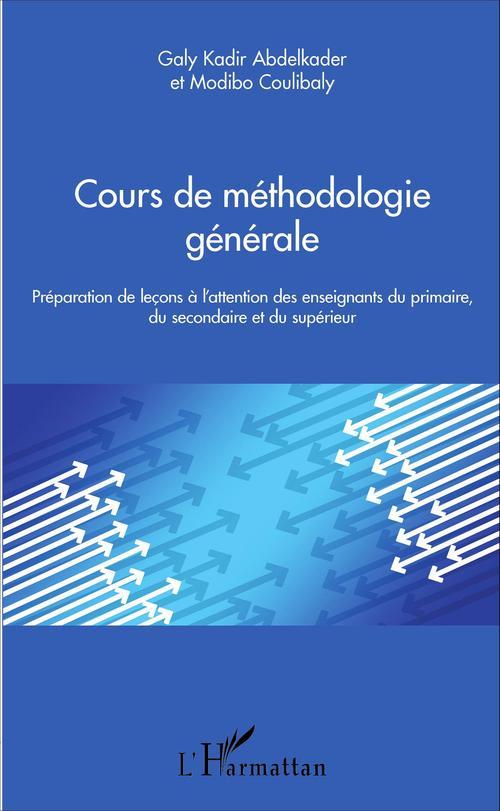 Modibo Coulibaly Cours de méthodologie générale