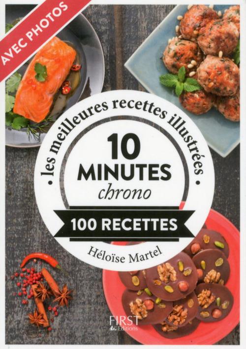 Héloïse MARTEL Recettes en 10 minutes chrono