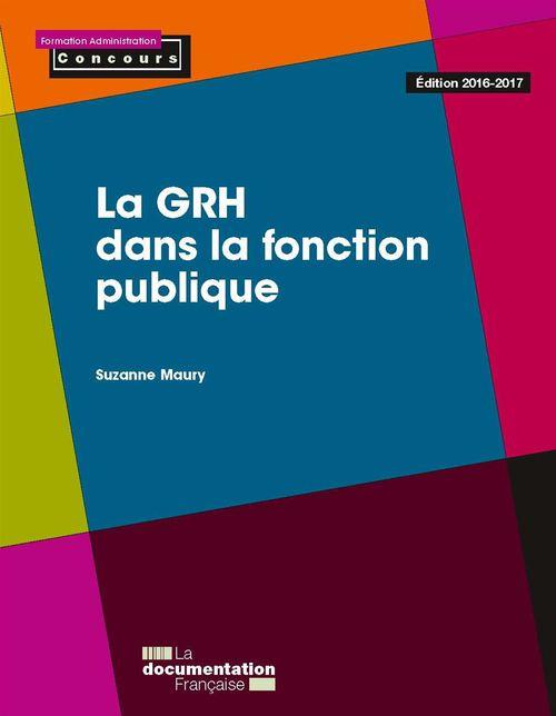 Suzanne Maury La GRH dans la fonction publique