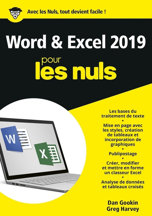 Word et Excel pour les nuls (édition 2019)