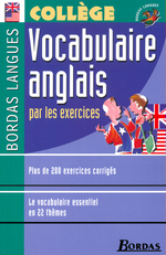 Bordas Langues o Vocabulaire anglais par les exercices