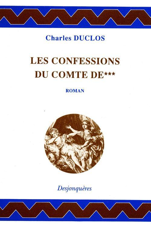 Charles DUCLOS Les Confessions du comte de***