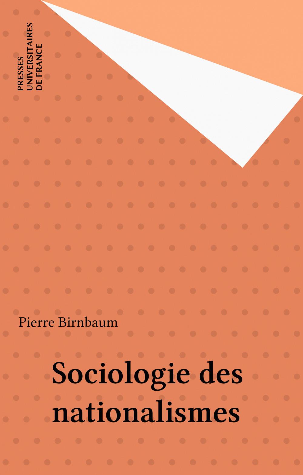 Sociologie des nationalismes