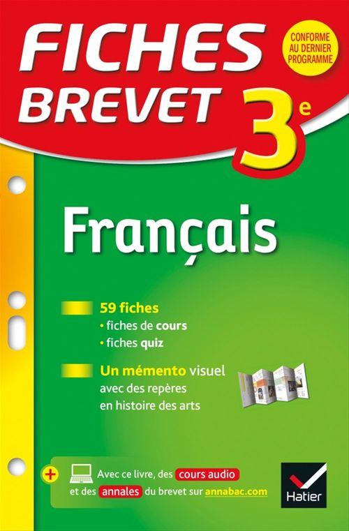 Sylvie Dauvin Fiches Brevet Français 3e
