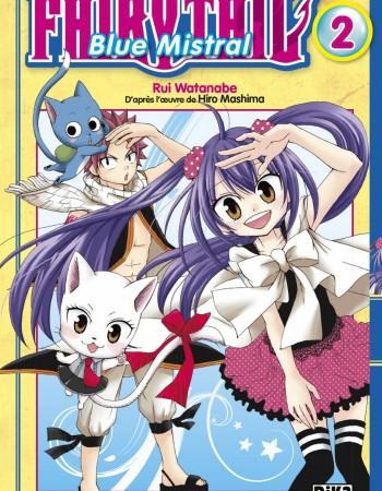 Hiro Mashima Fairy Tail - Blue Mistral - Tome 2 - Fairy Tail - Blue Mistral T02
