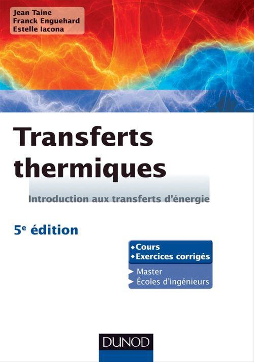 Transferts thermiques - 5e édition