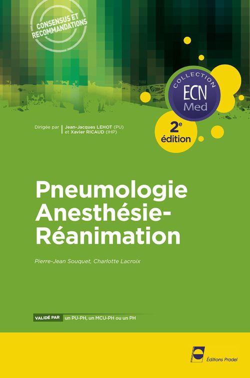 Pierre-Jean Souquet Pneumologie -- anesthésie - réanimation ECN