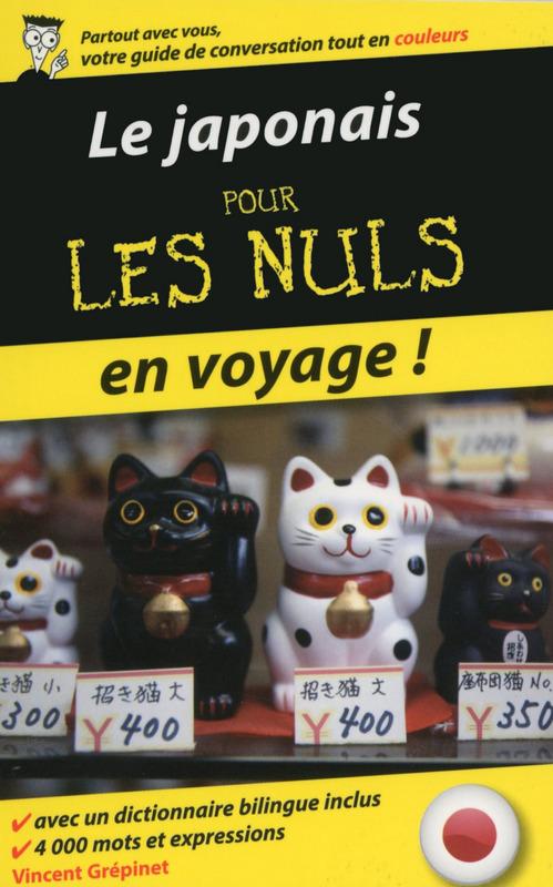 Vincent GREPINET Le japonais pour les Nuls en voyage