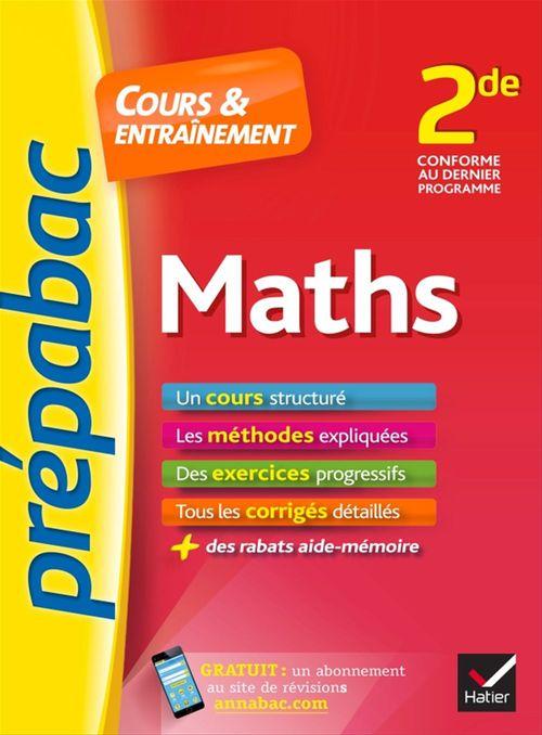 Jean-Dominique Picchiottino Maths 2de - Prépabac Cours & entraînement