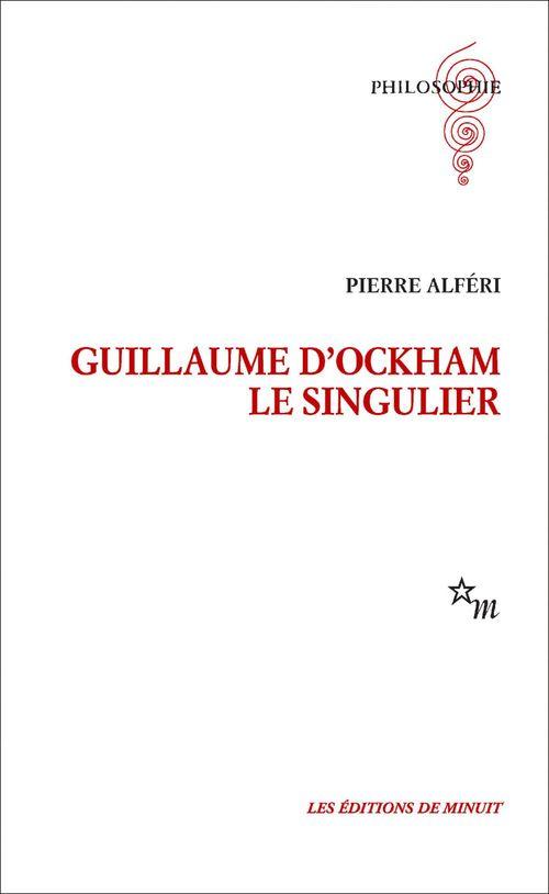 Guillaume d'Ockham. Le singulier