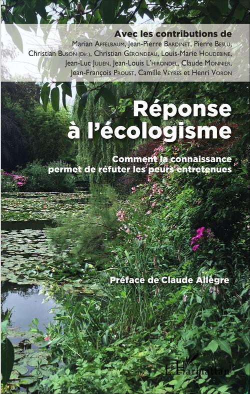 Réponse à l'écologisme