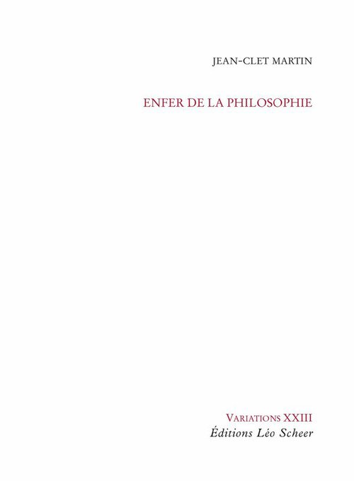 Enfer de la philosophie