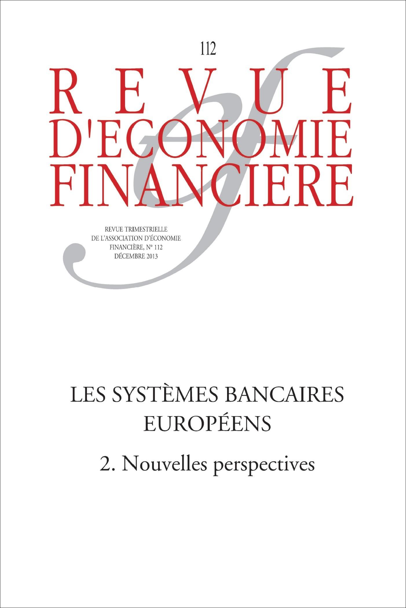 Ouvrage Collectif Les systèmes bancaires européens (2) Nouvelles perspectives