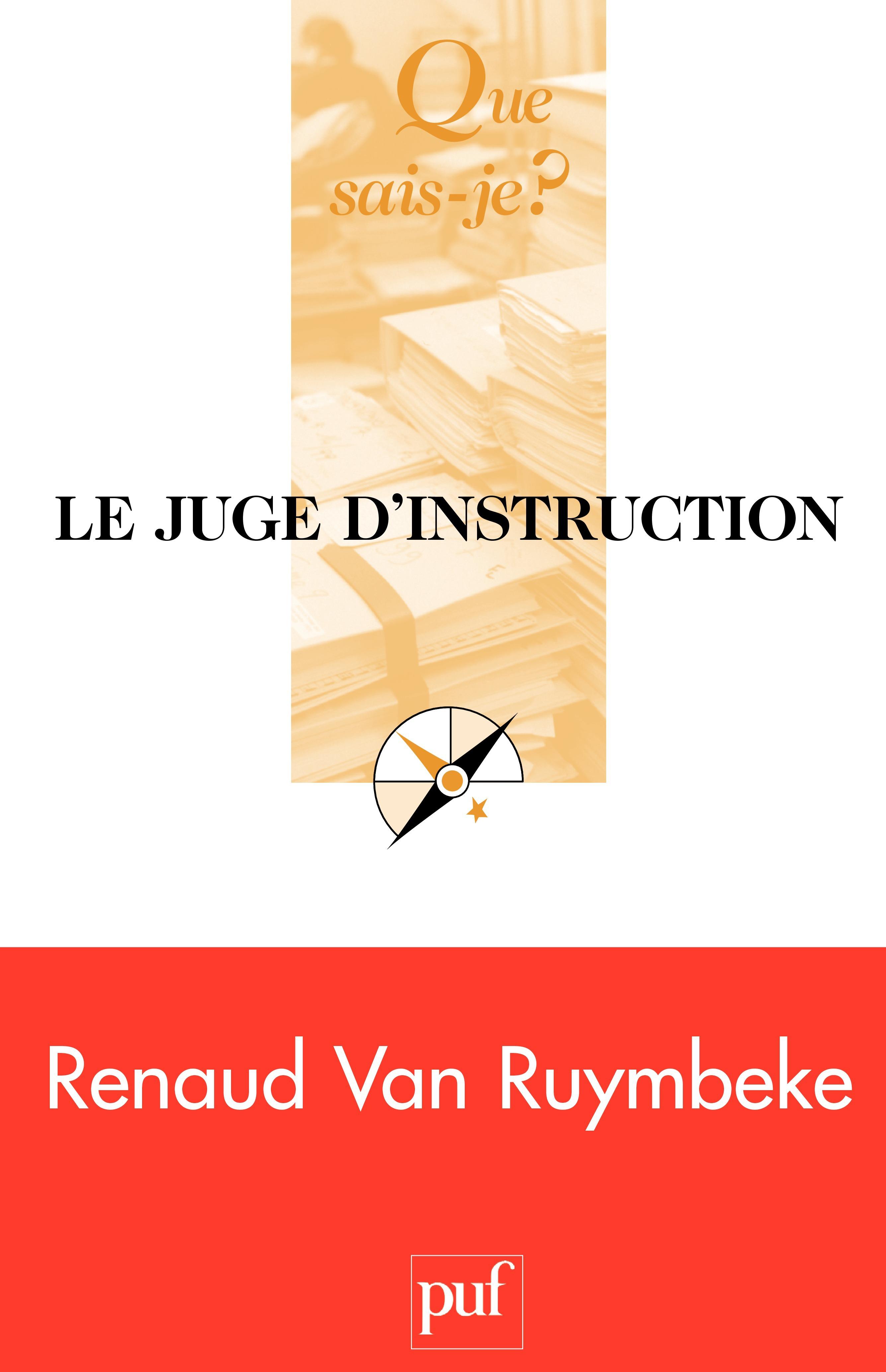 Le juge d'instruction (5e édition)