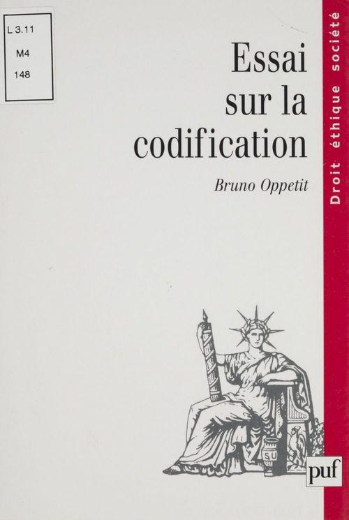 Essai sur la codification