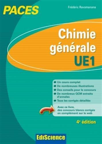 Chimie générale-UE1 PACES - 4e éd.