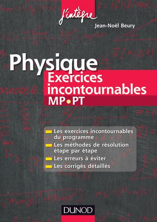 Physique Exercices incontournables MP-PT