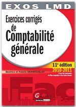 Exercices corrigés de comptabilité générale (11e édition)