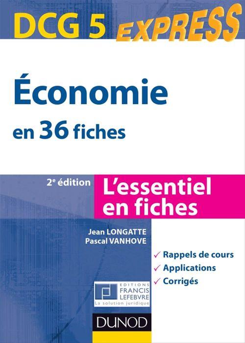 Économie DCG 5 - 2e éd.