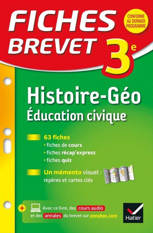 Florence Holstein Fiches Brevet Histoire-Géographie Éducation civique 3e