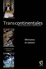 6 | 2008 - M�moires et nations - Transcontinentales