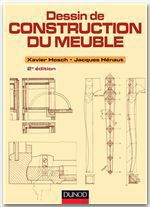Dessin de construction du meuble (2e �dition)