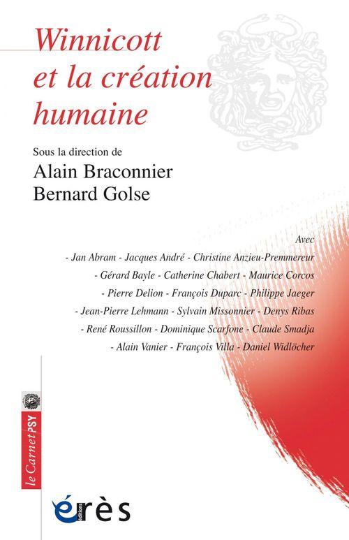 Bernard Golse Winnicott et la création humaine