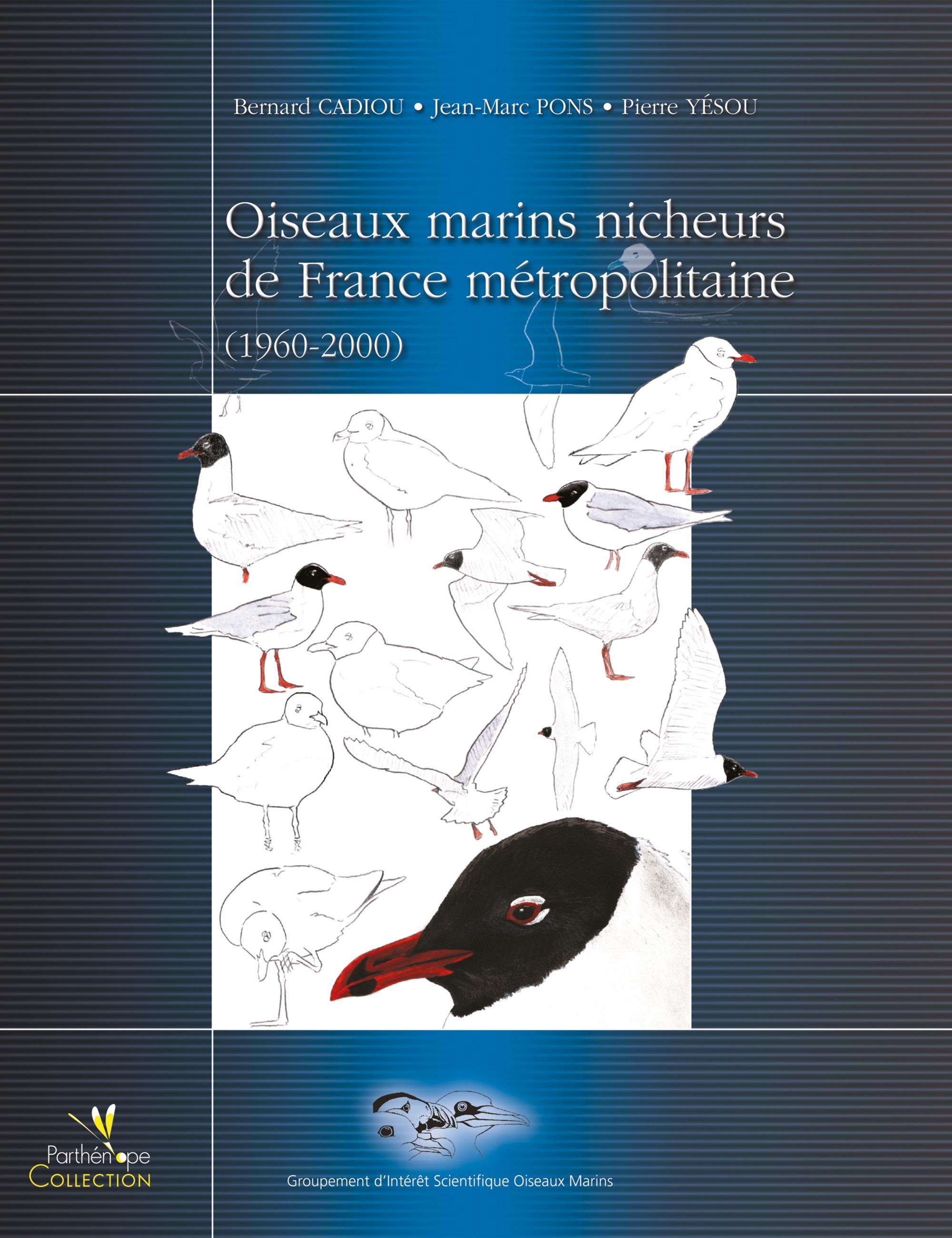 Bernard  Cadiou Oiseaux marins nicheurs de France métropolitaine 1960-2000