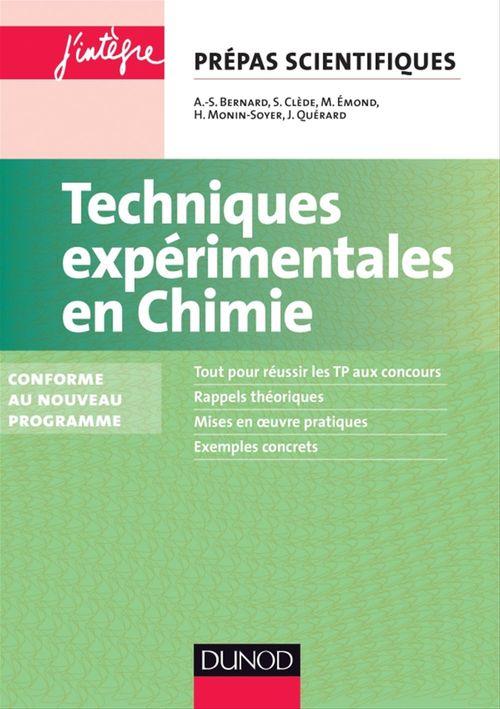 Techniques expérimentales en Chimie - 2e éd.