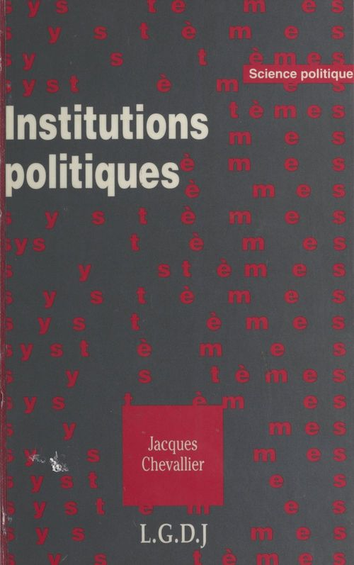Jacques Chevallier Institutions politiques
