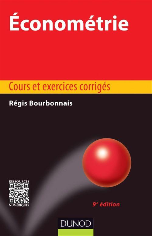 Régis Bourbonnais Économétrie - 9e édition