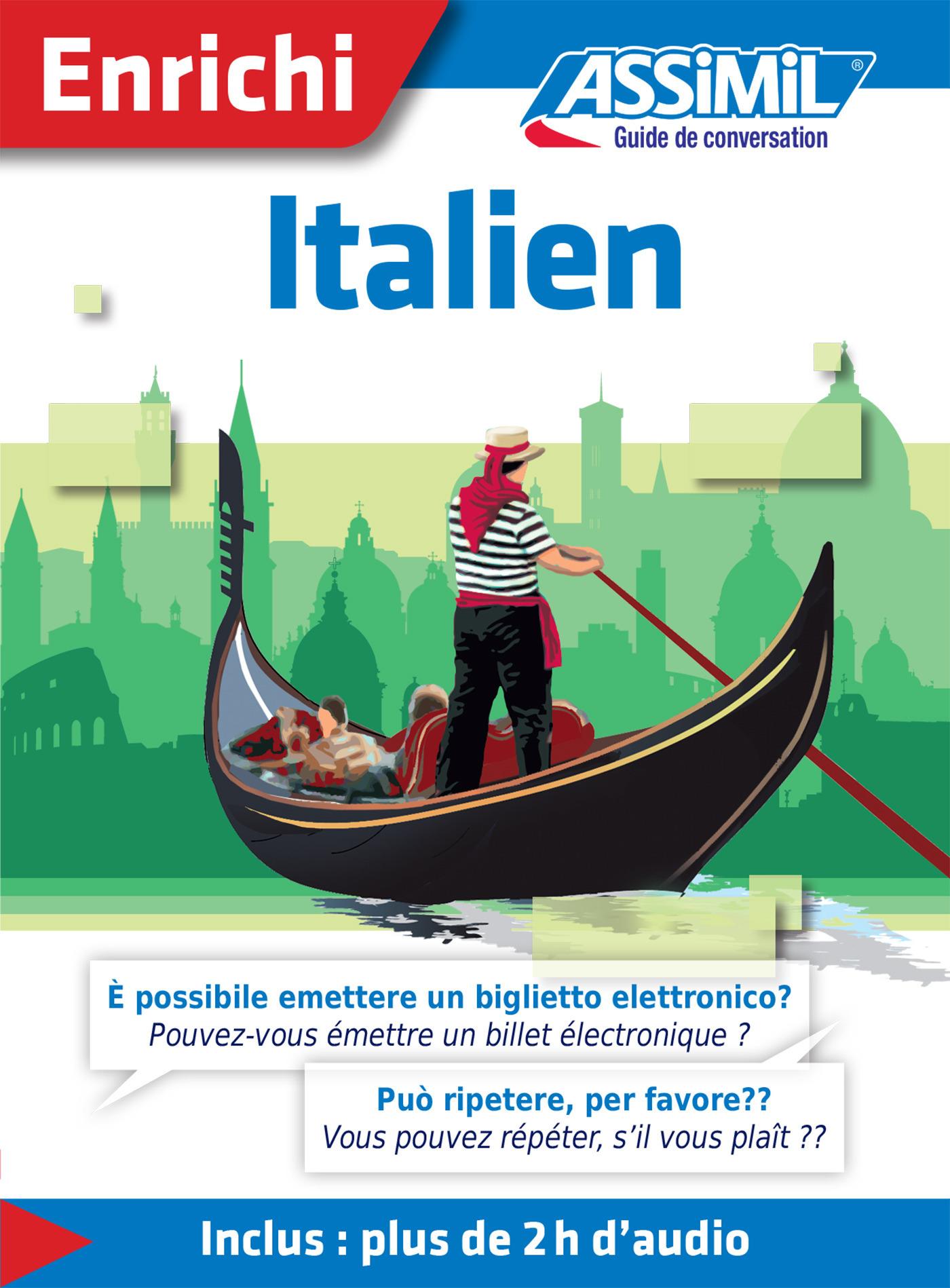 Jean-Pierre Guglielmi Italien - Guide de conversation