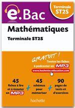 Alain Vidal E.Bac, Mathématiques, Terminale ST2S