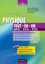 Physique tout-en-un MPSI-PCSI-PTSI - 3me dition