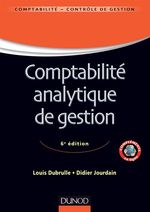 Comptabilit� analytique de gestion - 6�me �dition