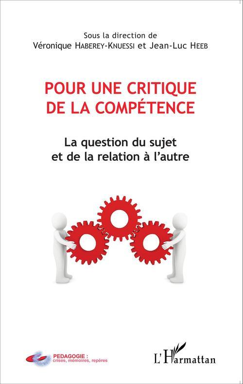 Véronique Haberey-Knuessi Pour une critique de la compétence