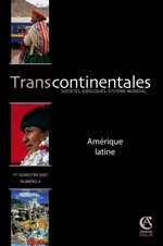Transcontinentales n.4 ; am�rique latine