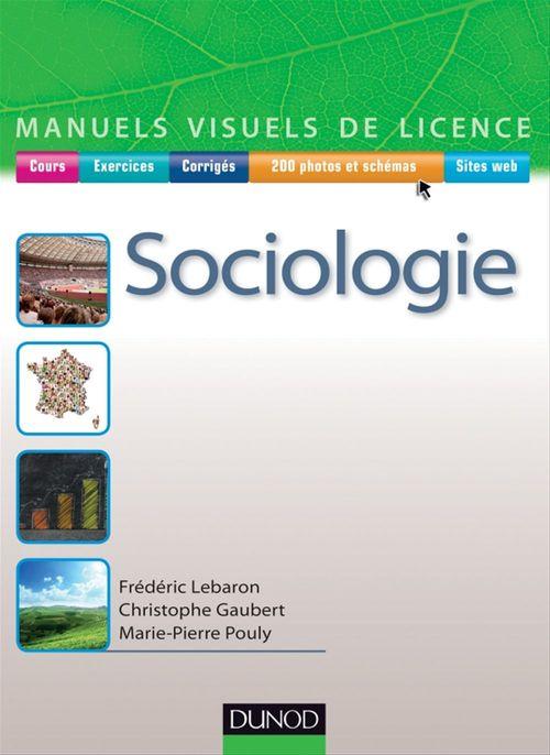 Frédéric Lebaron Manuel visuel de sociologie