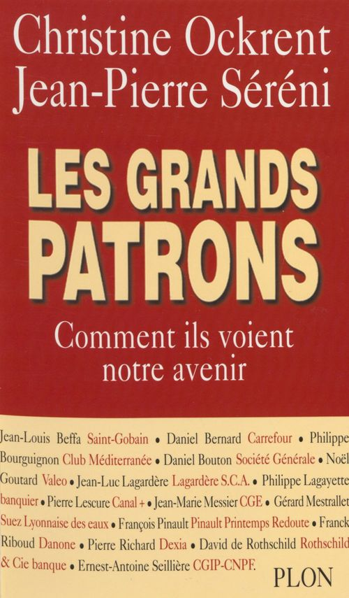 Christine Ockrent Les Grands Patrons