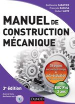 Manuel de construction mcanique - 3me dition