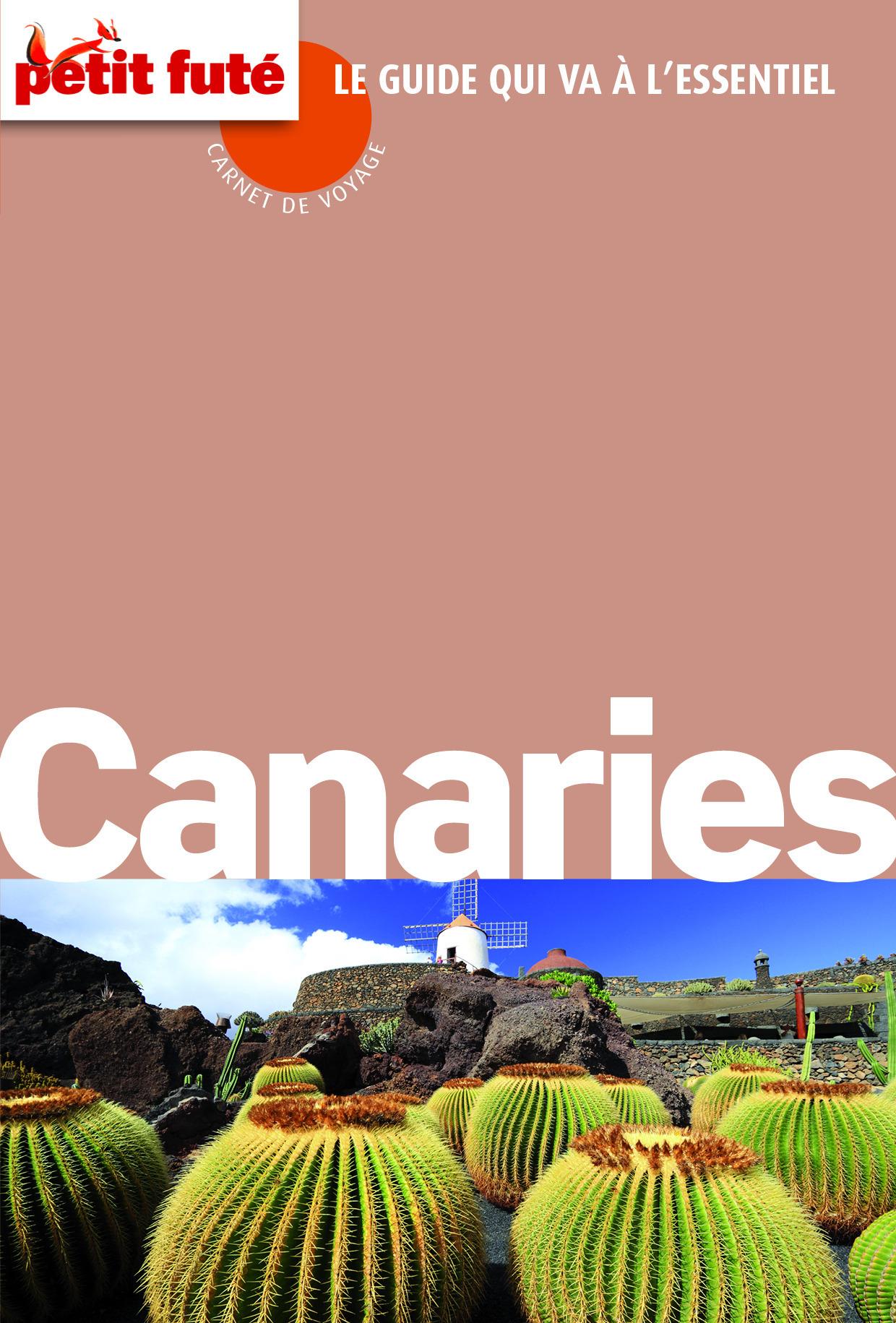 Collectif CANARIES Carnet de voyage (avec cartes, photos + avis des lecteurs)