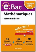 Alain Vidal E.Bac - Mathématiques Terminale STG