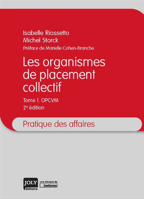 Les organismes de placement collectif - 2e édition
