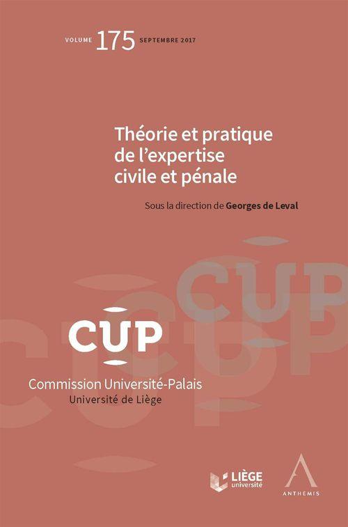 Georges de Leval Théorie et pratique de l´expertise civile et pénale