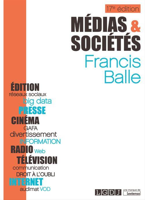 Médias & Sociétés - 17e édition